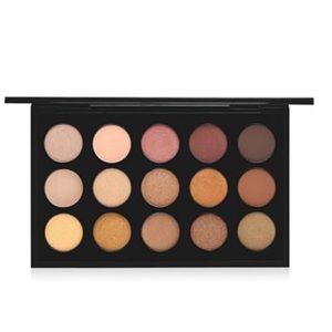 NWT MAC Cosmetics Warm Neutral Eye Shadow x 15 Pal